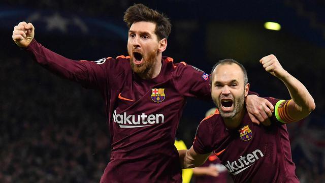Chelsea-Barcelona-Lionel Messi