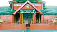 Masjid Cheng Ho atau Masjid Muhammad Cheng Ho Surabaya, adalah bangunan masjid yang menyerupai kelenteng. (Sumber: Instagram/@sapawargasby)