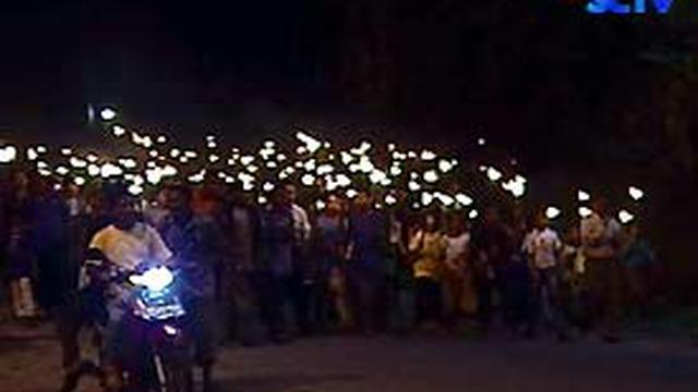 Pawai Obor Mewarnai Peringatan Paskah Di Papua News Liputan6com