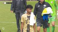 Bagus Kahfi bermain untuk Jong Utrecht. (Tangkapan layar YouTube FC Utrecht).