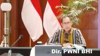 Joedha Nugraha, Direktur PWNI dan BHI Kemlu RI dalam press briefing pada Jumat 7 Agustus 2020. (Dok: Kemlu RI)
