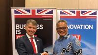 """Dukung sektor pendididkan Indonesia, Inggris meluncurkan program """"Skills for Prosperity"""" di Hotel Fairmont, Selasa (5/11/2019). (Kedutaan Besar Inggris di Jakarta)"""