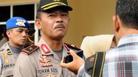 Kapolda Sulawesi Tengah Brigjen Pol Idham Aziz (Liputan6.com/ Dio Pratama)