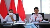 Ketua NOC Indonesia, Raja Sapta Oktohari (Kanan). (NOC Indonesia)