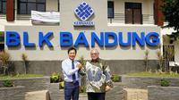 Mitsubishi Indonesia membuka kelas di Balai Besar Pengembangan Latihan Kerja (BBPLK) Bandung, Jawa Barat. (MMKSI)