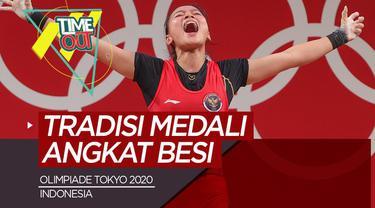 Berita video Time Out tentang laju tim Bulutangkis Indoensia dan raihan medali dari angkat besi pada Olimpiade Tokyo 2020.
