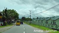 Kementerian PUPR secara bertahap terus membangun jalan Trans Maluku sepanjang 914 Km di Pulau Seram, Provinsi Maluku. (Dok Kementerian PUPR)