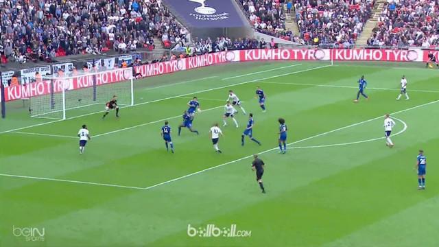 Banjir sembilan gol mewarnai laga Tottenham Hotspur kontra Leicester City di pekan terakhir Liga Inggris, Minggu (13/5). Tertingga...