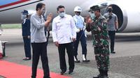 Presiden Joko Widodo atau Jokowi melakukan kunjungan kerja ke Kota Bandung Jawa Barat, Selasa (11/8/2020). (Foto: Biro Pers Sekretariat Presiden)