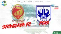Jadwal Liga 1 2018, Sriwijaya FC Vs PSIS Semarang. (Dody Iryawan)