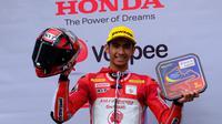 Andi Gilang bakal tampil di Moto2 saat perhelatan MotoGP San Marino digelar akhir pekan ini (dok: Honda)
