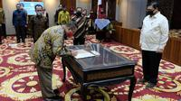 Pelantikan Eselon II Kementerian Koordinator Bidang Perekonomian (cr: Foto: Tubagus/Humas Ekon)
