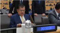 Wapres Jusuf Kalla di Markas Besar PBB di New York. (Foto: Setwapres RI)
