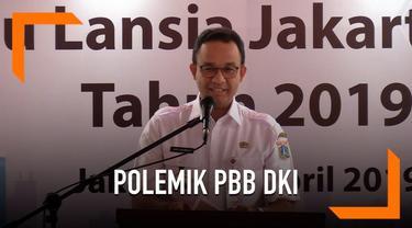 Polemik tentang perbuhan peraturan PBB DKI Jakarta yang dikeluarkan Gubernur Anies menuai pro dan kontra. Anies akhirnya angkat bicara tentang isu PBB di DKI.