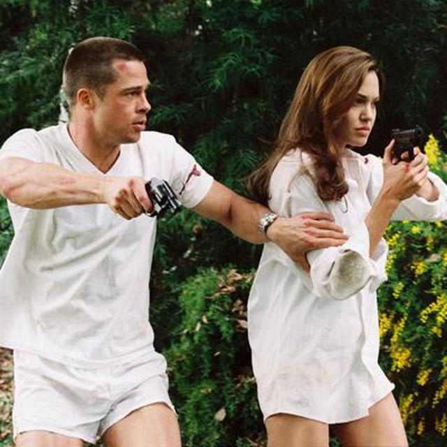 Reuni Angelina Jolie Brad Pitt Takkan Seseru Mr Mrs Smith Showbiz Liputan6 Com