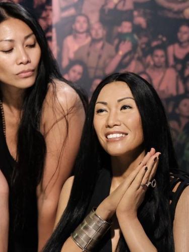 Patung lilin Anggun di Madame Tussauds