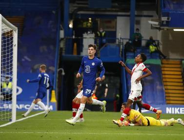 FOTO: Chelsea Sama Kuat Lawan Southampton di Stamford Bridge