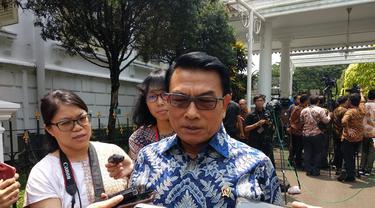 Kepala Kantor Staf Kepresidenan (KSP) Moeldoko. (Liputan6.com/Hanz Jimenez Salim)