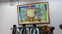 Wakil Gubernur DKI Sandiaga Uno bertemu Mensos Khofifah