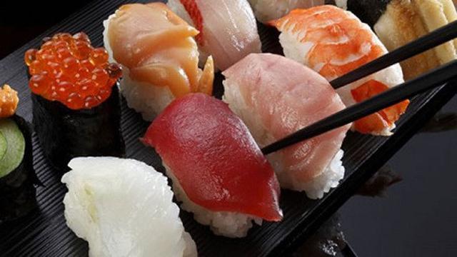 Ilustrasi Sushi (AFP)