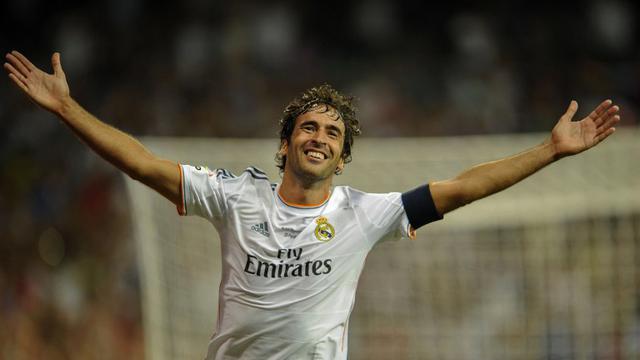 Legenda Real Madrid Raul Gonzalez