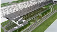 Design Terminal 4 Bandara Soetta.