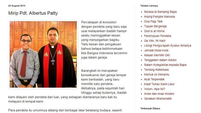 [Cek Fakta] Prabowo Subianto Gunakan Pakaian Pastor Lengkap?