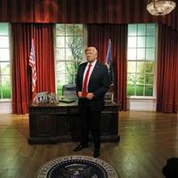 Patung Lilin Donald Trump