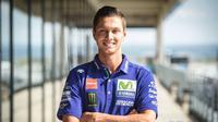 Michael van der Mark, calon pengganti Valentino Rossi pada MotoGP Aragon 2017. (Crash)