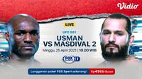 Streaming UFC 261 di FOX Sports. (Sumber : dok. vidio.com)