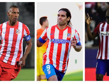 FOTO: 5 Pemain Kolombia yang Pernah Memperkuat Atletico Madrid, Radamel Falcao Tersukses