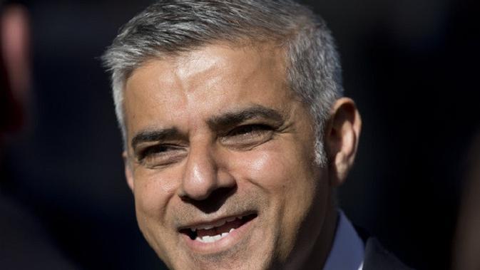 Wali Kota London Sadiq Khan (AP Photo/Matt Dunham)