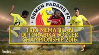 Trio Mematikan di Torabika Soccer Championship 2016 (Bola.com/Adreanus Titus)