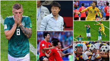 Ada Kejutan yang cukup menggemparkan jagat sepak bola saat Piala Dunia 2018 di Rusia. Raksasa Jerman tak berdaya menghadapi salah satu kontestan dari Asia, Korea Selatan. Shin Tae-yong dan anak asuhnya berhasil menang dengan skor dua gol tanpa balas.