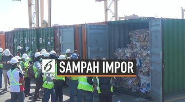 Bea Cukai menemukan ratusan ton sampah impor dari Australia yang tersimpan di dalam 8 kontainer. Sampah ini akan segera dikembalikan ke Australia.