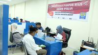 Kantor Imigrasi Jakarta Barat Layani Pembuatan Paspor Haji di Akhir Pekan (Imigrasi Jakbar)