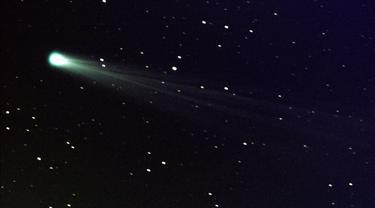 Ilustrasi komet