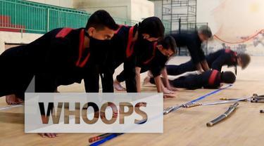 Di Gaza ada sekolah ninja yang banyak diikuti oleh anak-anak. Sekolah tersebut ternyata membuat peserta jadi pemberani.
