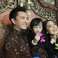 Pernikahan Adhitya Putri dan Ridwan Abdul Ghany (Nurwahyunan/bintang.com)