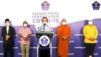 Lima perwakilan agama di Indonesia mengungkapkan apa yang mereka rasakan sehari setelah diberi vaksin COVID-19 (Tangkapan Layar Youtube BNPB Indonesia)