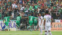 Persekap Kota Pasuruan mengalahkan PSGC Ciamis 1-0, Sabtu (29/10/2016) di Stadion Untung Suropati Kota Pasuruan. (Bola.com/Robby Firly)