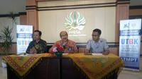 Konferensi pers SBMPTN 2019 Unesa (Foto: Dok Universitas Negeri Surabaya/Unesa)