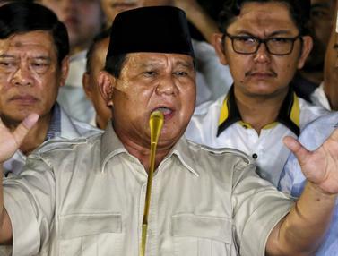 Deklarasikan Kemenangan Prabowo Subianto Meyakini Pimpin Bangsa Indonesia