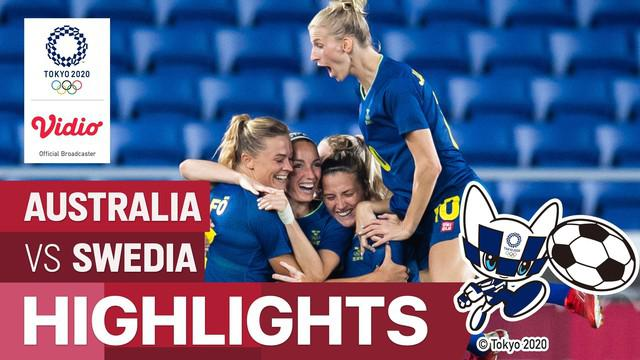 Berita video highlights laga semifinal sepak bola putri Olimpiade Tokyo 2020 setelah mengalahkan Australia dengan skor 1-0, Senin (2/8/2021) malam hari WIB.