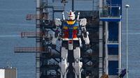 Robot Gundam Setinggi 18 Meter dari Yokohama. Kredit: Domenico Vescio - Nansei2