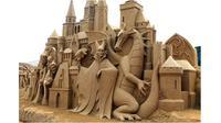 Karya seni pasir (Sumber: Brightside)