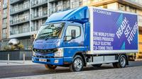Mitsubishi Fuso eCanter. (Commercial fleet)