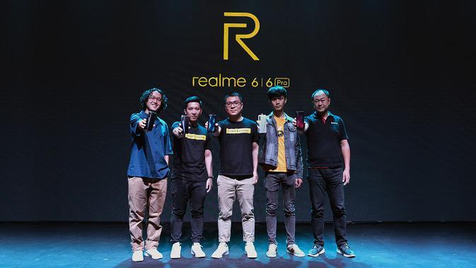 Peluncuran Realme 6 dan Realme 6 Pro di Indonesia. (sumber: Realme)