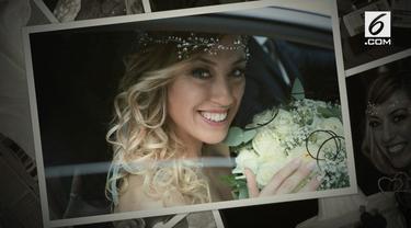 Seorang wanita di Italia menggelar resepsi pernikahan sebesar Rp 202 Juta. Uniknya Ia menikah dengan dirinya sendiri.