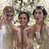 Pernikahan Baim Wong dan Paula Verhoeven. (Foto: instagram.com/wulanesiaofficial)